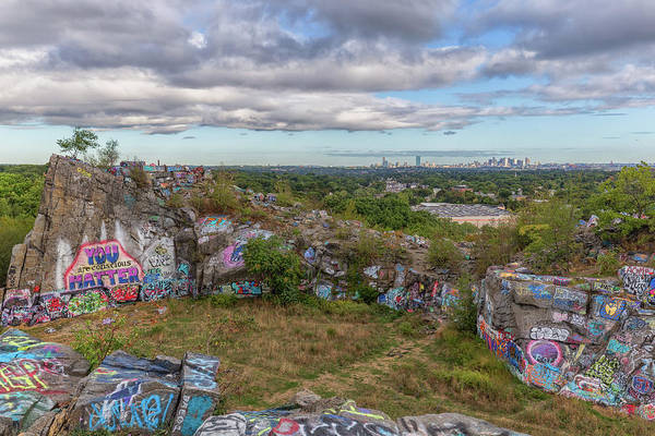Photograph - Boston From Quincy Quarries by Brian MacLean