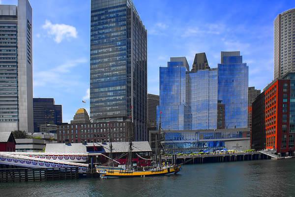 Photograph - Boston Harbor - Boston Series 23 by Carlos Diaz