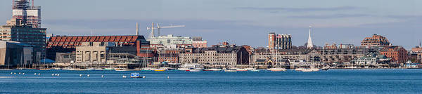 Photograph - Boston Harbor Panorama by Brian MacLean