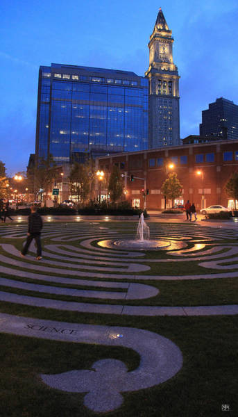 Photograph - Boston Labyrinth by John Meader
