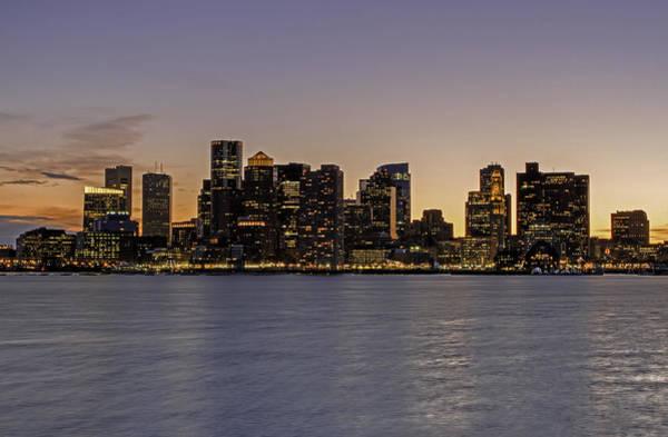 Wall Art - Photograph - Boston Last Night Sunset by Juergen Roth
