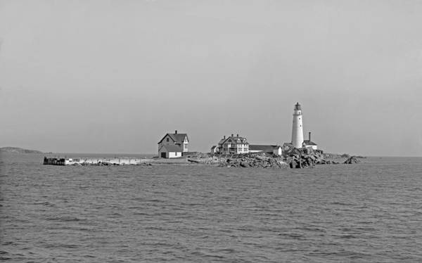 Photograph - Boston Light 1906 by Paul and Janice Russell