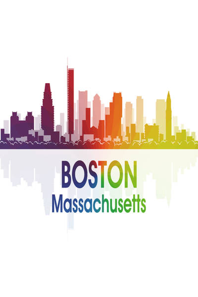 Wall Art - Digital Art - Boston Ma 1 Vertical by Angelina Tamez