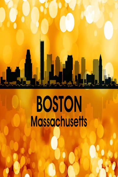 Wall Art - Digital Art - Boston Ma 3 Vertical by Angelina Tamez
