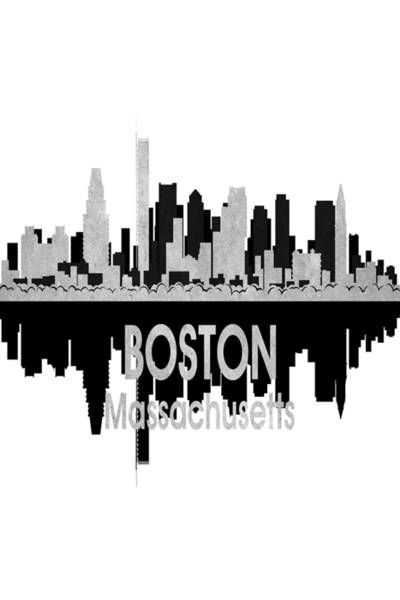 Wall Art - Digital Art - Boston Ma 4 Vertical by Angelina Tamez