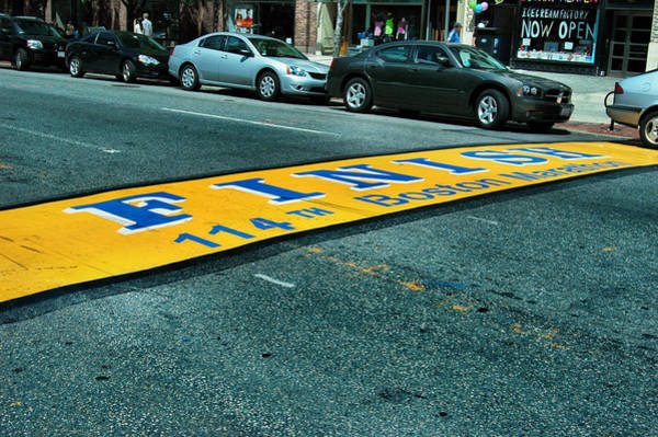 Boston Marathon Wall Art - Photograph - Boston Marathon Finish Line by Rick Couper