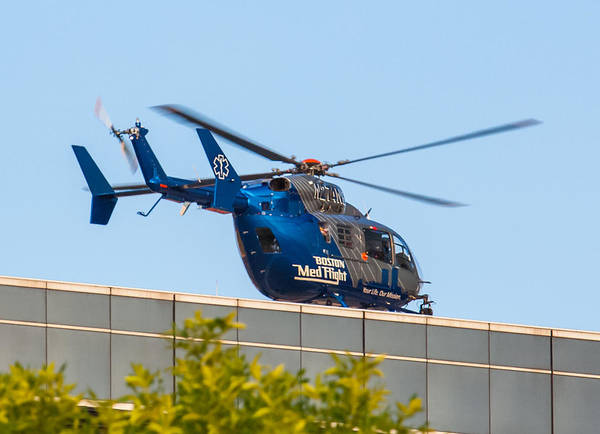 Photograph - Boston Medflight by Brian MacLean