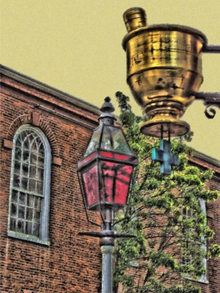 Boston Medicine Art Print