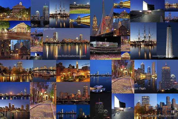 Wall Art - Photograph - Boston Nights Of Light by Juergen Roth
