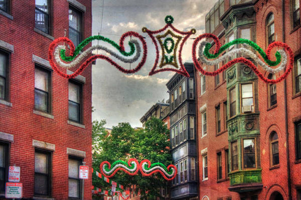 Photograph - Boston North End Saint Anthony's Feast by Joann Vitali