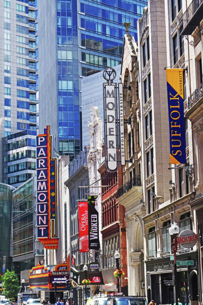 Photograph - Boston Paramount Washington St Boston Ma by Toby McGuire