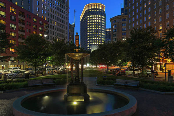 Photograph - Boston Park Plaza Hotel by Juergen Roth