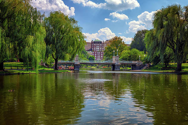 Wall Art - Photograph - Boston Public Garden Bridge by Rick Berk