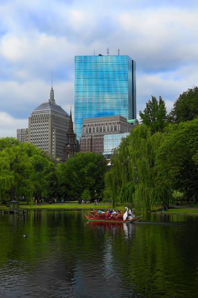 Photograph - Boston Public Gardens Park - Y3 by Carlos Diaz