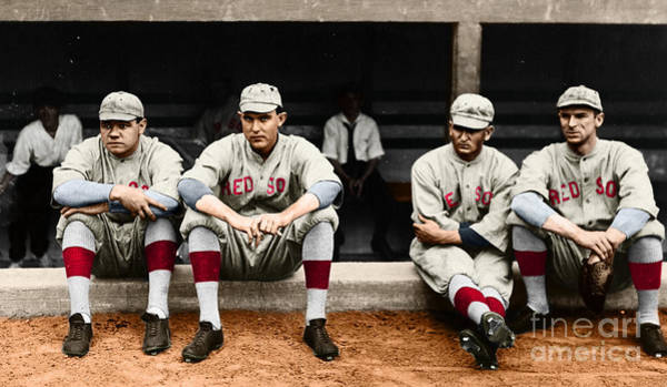 Photograph - Boston Red Sox by Granger