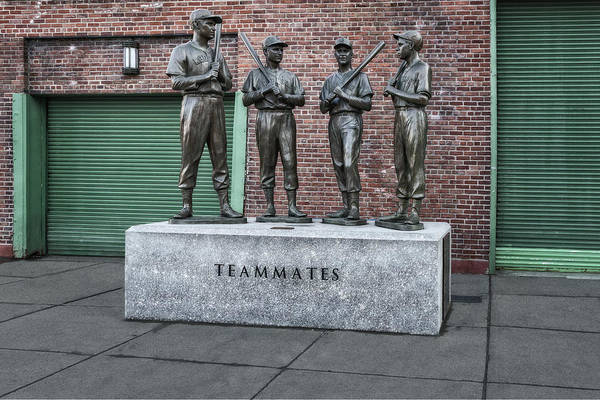 Photograph - Boston Red Sox Teammates by Susan Candelario