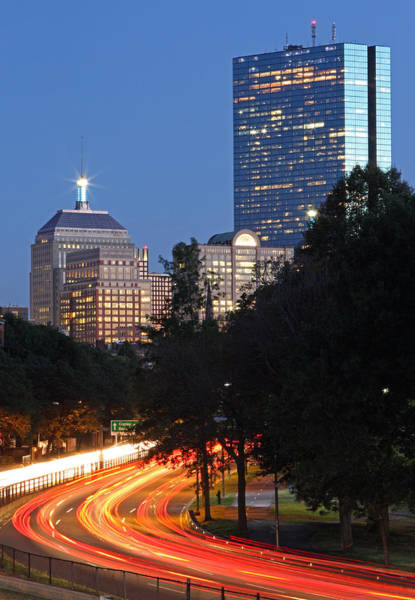 Photograph - Boston Rush Hour On Storrow Drive by Juergen Roth