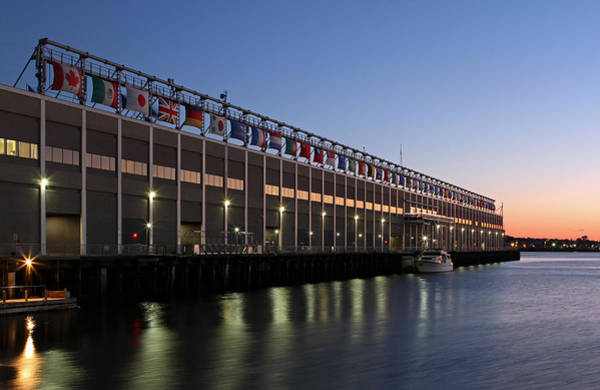 Photograph - Boston Seaport World Trade Center by Juergen Roth