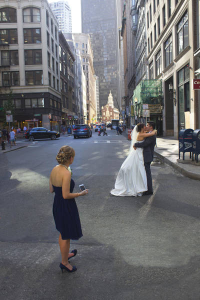 Photograph - Boston Wedding - Boston Series 16 by Carlos Diaz