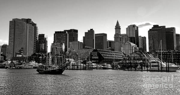 Photograph - Boston Skyline by Olivier Le Queinec