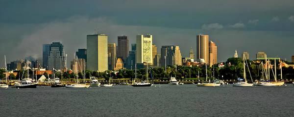 Photograph - Boston Skyline by Albert Seger