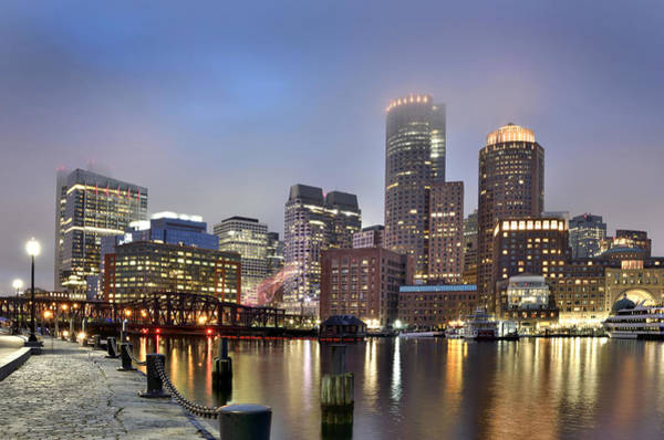 Wall Art - Photograph - Boston Skyline by Brendan Reals