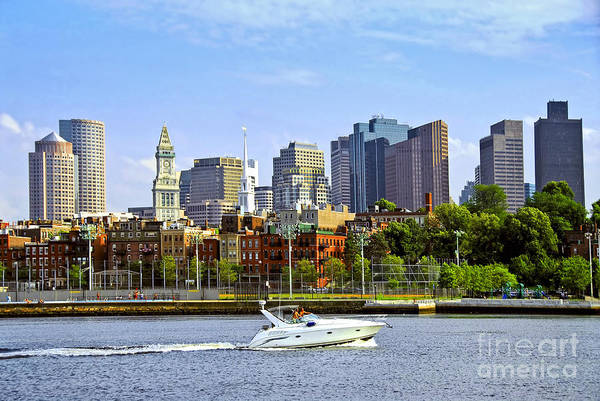 Photograph - Boston Skyline by Elena Elisseeva