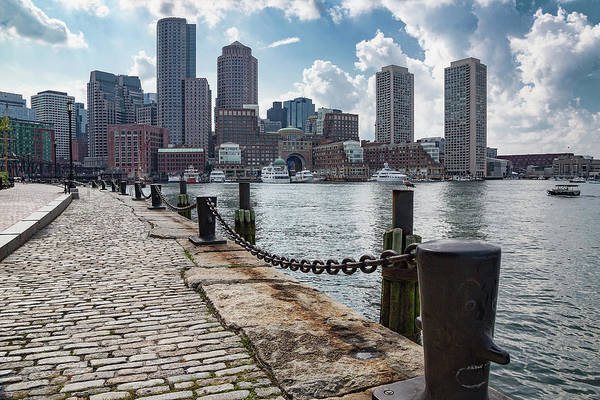 Photograph - Boston Skyline From Fan Pier Park by Jemmy Archer