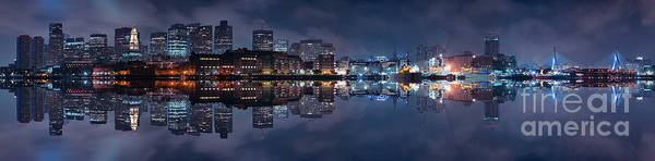 Sony Center Photograph - Boston Skyline by Isaac S