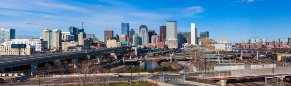 Photograph - Boston Skyline Panorama 2 by Brian MacLean
