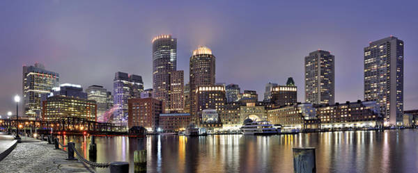 Wall Art - Photograph - Boston Skyline Panorama by Brendan Reals