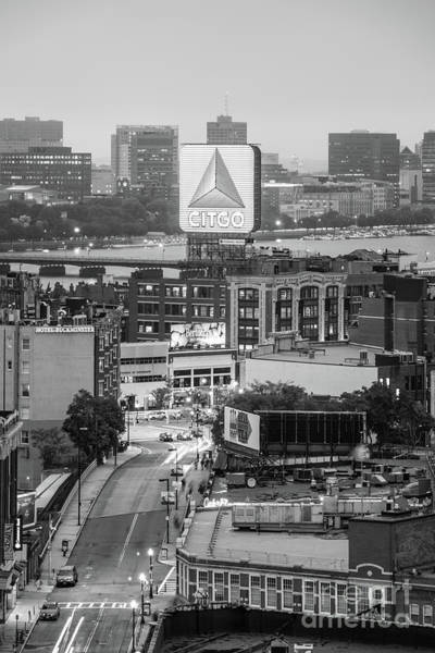 Wall Art - Photograph - Boston Skyline Photo With The Citgo Sign by Paul Velgos