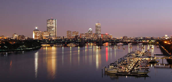 Photograph - Boston Skyline Photography by Juergen Roth