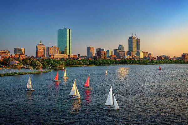 Wall Art - Photograph - Boston Skyline Summer 2018 by Rick Berk