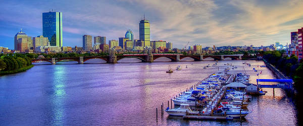 Wall Art - Photograph - Boston Skyline Sunset by Joann Vitali