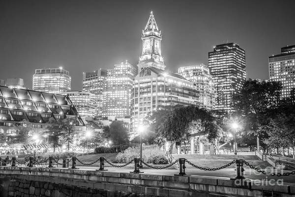 Wall Art - Photograph - Boston Skyline With Christopher Columbus Park by Paul Velgos