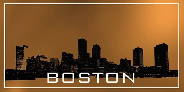 Digital Art - Boston Skylinein Cooper by Alberto RuiZ