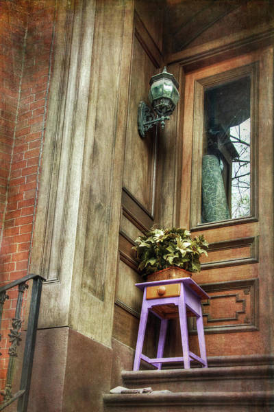 Photograph - Boston South End Doorways by Joann Vitali