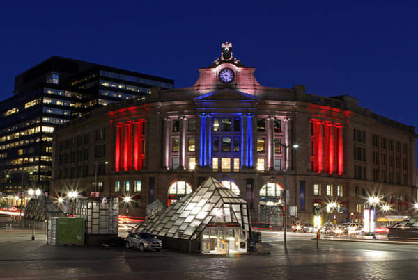 Photograph - Boston South Station by Juergen Roth