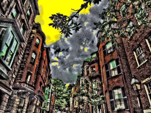 Digital Art - Boston Street by Vincent Green