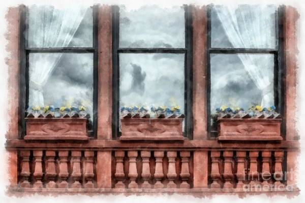 Boston Marathon Wall Art - Photograph - Boston Strong Memorial Back Bay by Edward Fielding