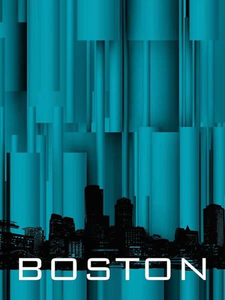 Digital Art - Boston Vertical Shdows by Alberto RuiZ