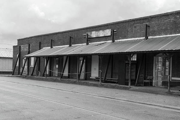 Photograph - Bostwick Supply Co. In Bw by Doug Camara