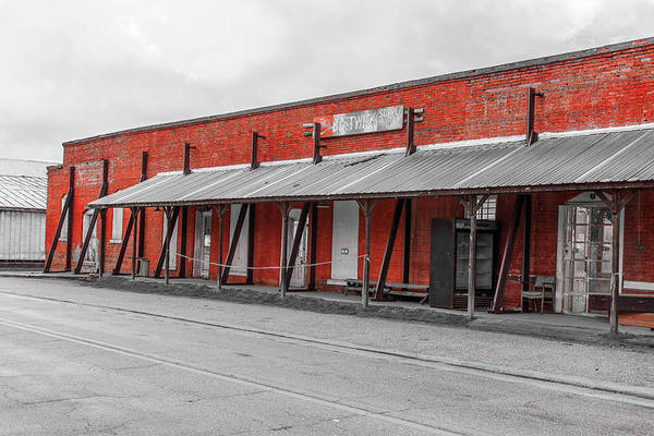 Photograph - Bostwick Supply Co. In Selective Color by Doug Camara