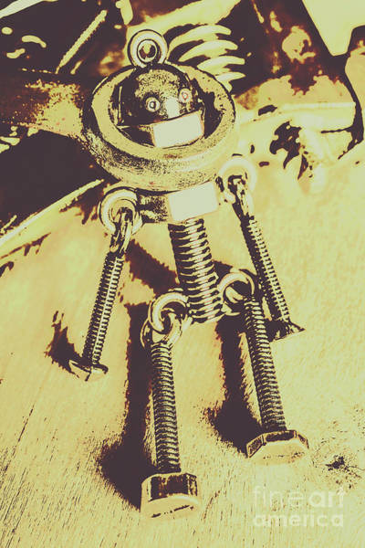 Wall Art - Photograph - Bot The Builder by Jorgo Photography - Wall Art Gallery