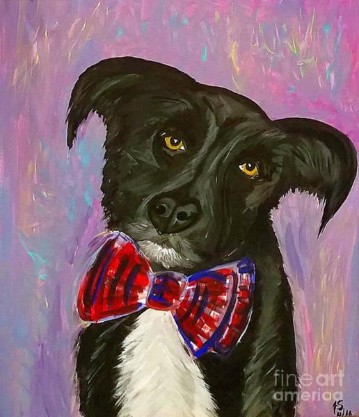 Painting - Bow Tie Boy by Ania M Milo