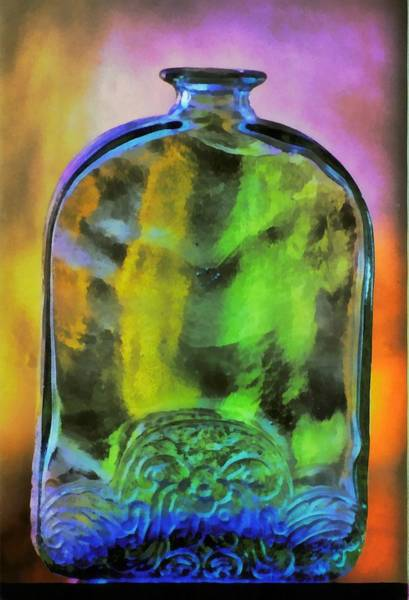 Photograph - Bottle by Jim Proctor