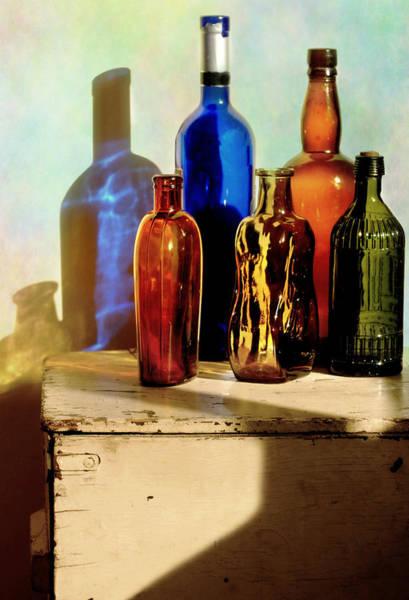 Wall Art - Photograph - Bottle Queue by Diana Angstadt