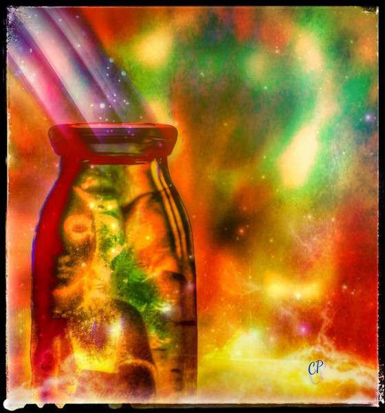 Painting - Bottled Spirit by Christine Paris