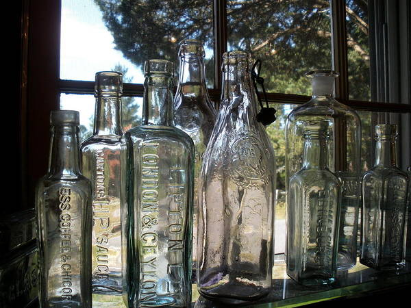 Bottled Up Art Print by Richard Mansfield